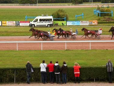 Hippodrome Lisieux Photo finish