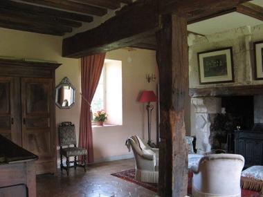 La Ferme du Chateau de Courtonne - gite - Philippe Gurrey - Fauguernon (salon)