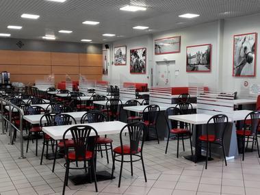 La Grignote Centre E.Leclerc Lisieux salle de restauration
