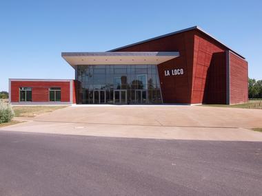 La Loco Salle de spectacle à Mezidon-Canon près de Lisieux vue exterieure
