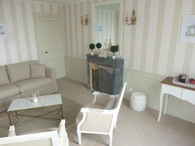 Le Manoir des Lords au Mesnil Durand, salon de la Chambre du Manoir