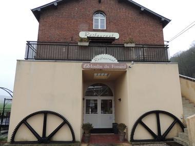 Le Moulin du Fossard- façade restaurant