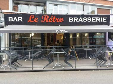 Le Rétro Lisieux Terrasse