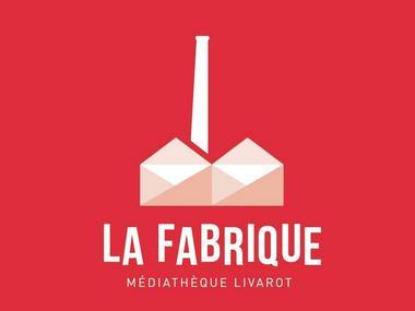 Logo La Fabrique Médiathèque de Livarot Pays d'Auge
