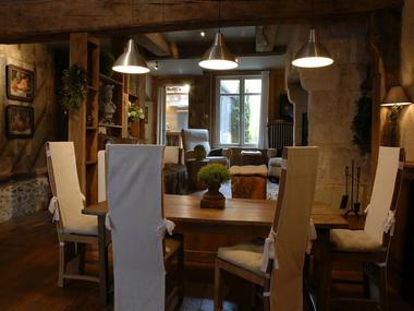 Le Gîte d'Orbec à Orbec, séjour-salon