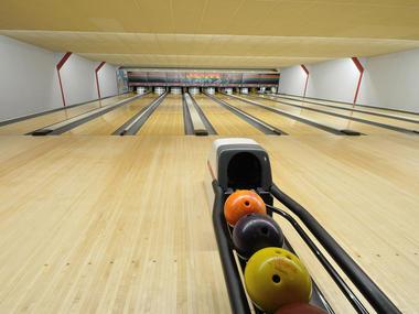 Lisieux Bowling, piste