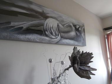 Aux Pommiers de Livaye à Notre Dame de Livaye, chambre Rose des Prés