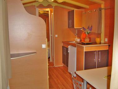 Devalparc - Le Mesnil Bacley - roulotte 1 intérieur