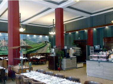 Salle petit-dejeuner Grand Hotel de l'Esperance