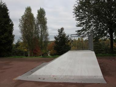 Skate park de Lisieux Descente