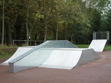 Skate park de Lisieux modules