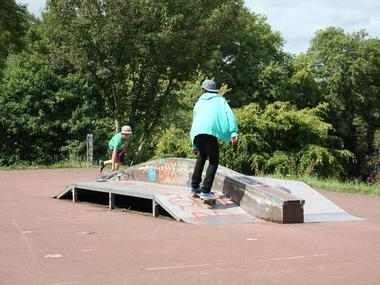 Skate park de Lisieux skateurs