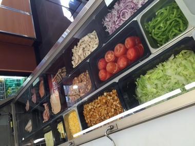 Subway restaurant rapide à Lisieux ingredients