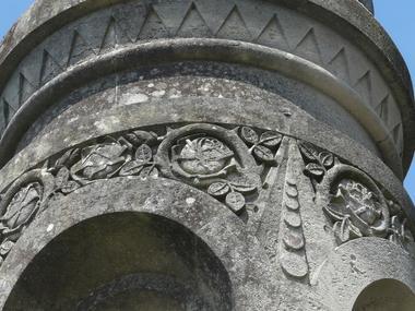 Visite du dome de la Basilique Sainte-Thérèse de Lisieux Détail sculptures