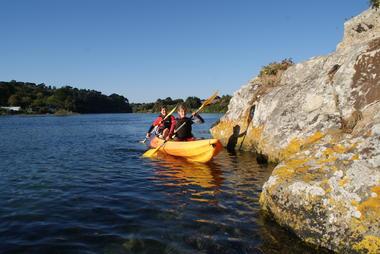 Location kayak double sur le Goyen