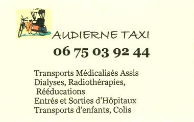 Audierne Taxi