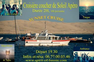 Spirit of Bassin croisieres apero