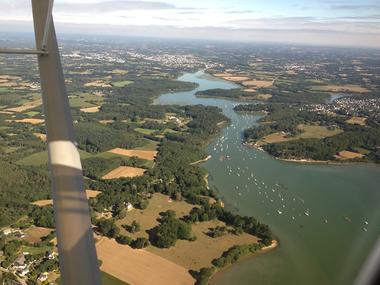 ULM de Brocéliande - vue du ciel - Loyat - Bretagne