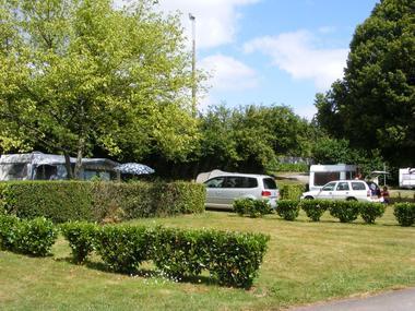 Camping Sérent emplacement - Morbihan - Bretagne