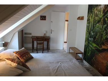 Chambre côté jardin