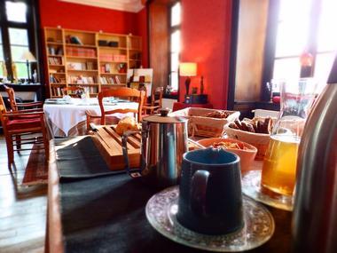 Chateau du Pin_Petit déjeuner