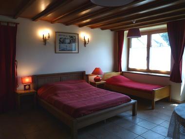 Chambres d'hôtes Métairie de la Béraudaie chambre Bodou - Bohal - Morbihan - Bretagne