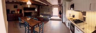 Gîte Lancelot_Paimpont_salon séjour