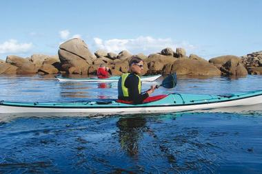 La côte des légendes en kayak