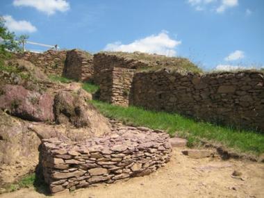 Le site naturel et médiéval de Boutavent à Iffendic