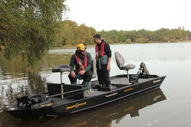 Découvrir la pêche en bass boat