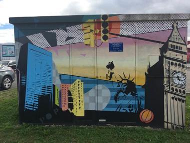graffiti montauban street art chantiers découvrir montauban visiter montauban Mr tosato