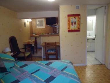 appartement 2 personnes à ax les thermes - studio