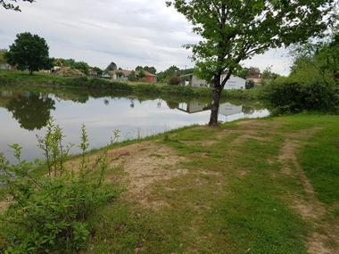 Lac d'Austrie nature Montauban Tarn-et-Garonne