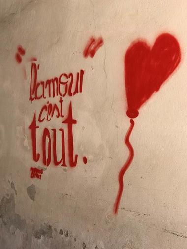 L'amour c'est tout street art