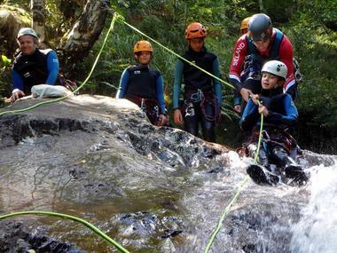 Bureau des Guides Canyon Famille