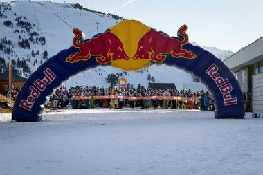 red bull tout schuss ax 3 domaines
