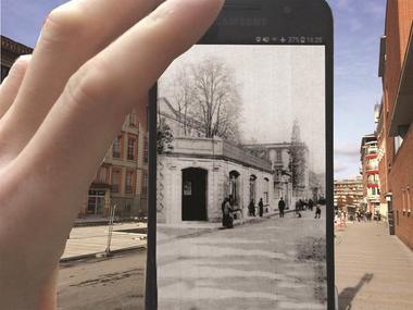 Les allées dévoilées Montauban Tarn-et-Graonne Réalité augmentée