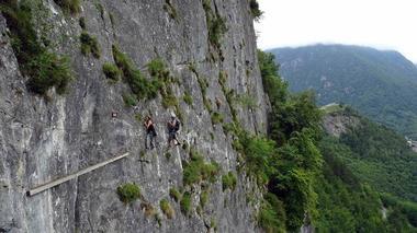 Via ferrata face nord Bureau des Guides