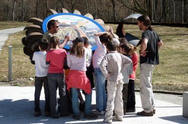 visite groupe enfants