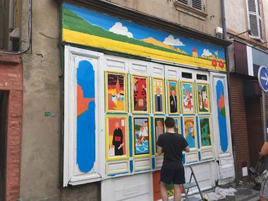 Azco street art Montauban