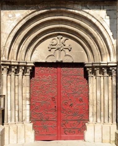 Chablis-collegiale-portail