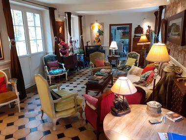 Le salon XVIIIème