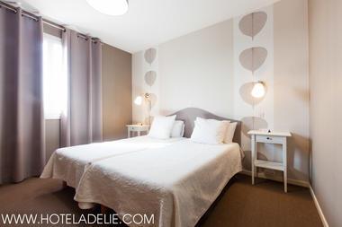 chambre twin 2 lits