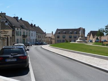 Place de la République vue de côté