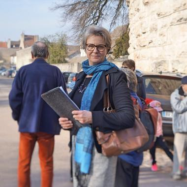 Karoline Knoth, guide conférencière trilingue DEU-FRA-ENG
