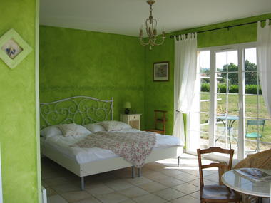 Chambre Printemps accessible PMR