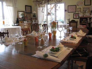 Table d''hôtes certains soirs sur réservation