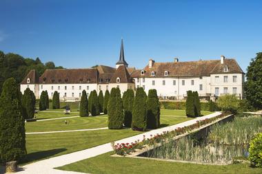 Château de Gilly - vue extérieure