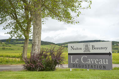 Entrée Caves des Hautes Côtes