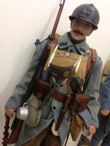 Soldat François SEGUIN du 258 RI en 1916 à VERDUN